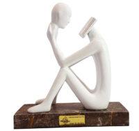 مجسمه امین کامپوزیت مدل ذهن برتر کد 209/1
