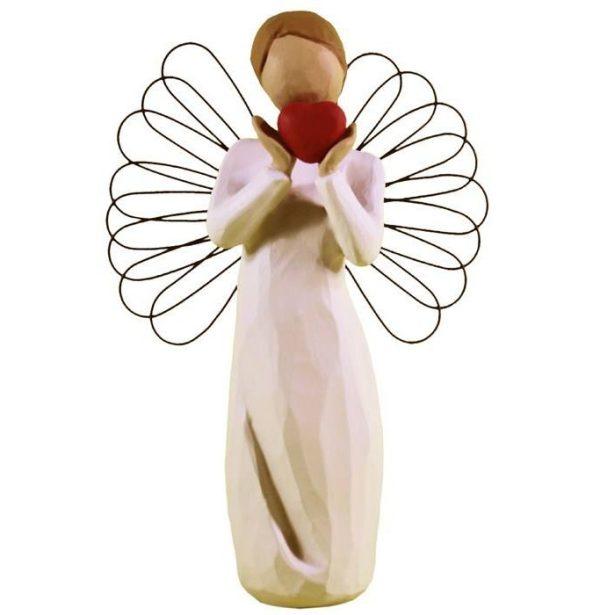 مجسمه امین کامپوزیت مدل فرشته دلباخته کد32/1