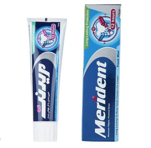 خمیر دندان سفید کننده مریدنت مدل 12 Hours مقدار 130 گرم
