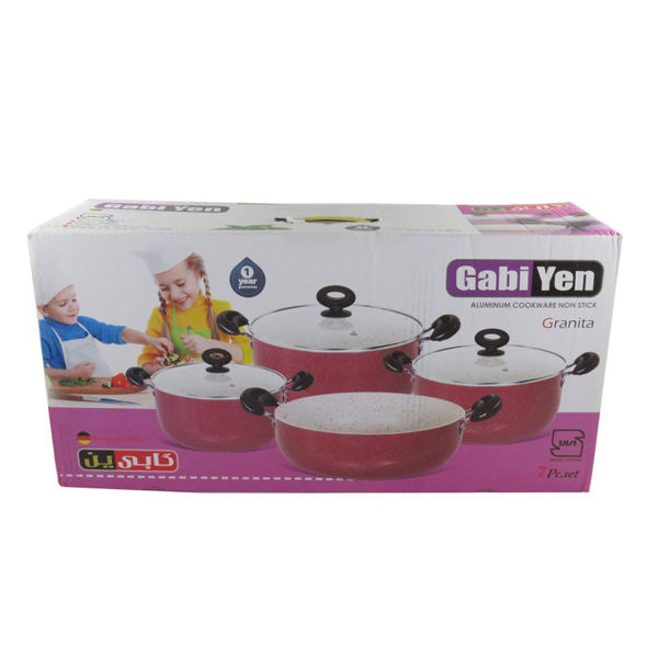 سرویس پخت و پز 7 پارچه گابین کد VAG049