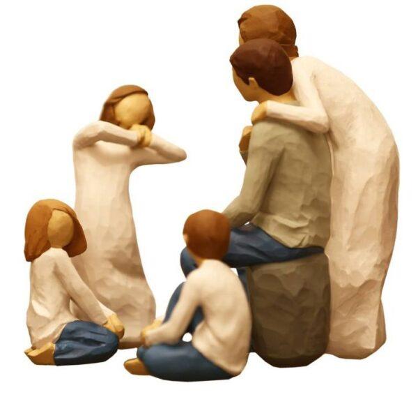 مجسمه امین کامپوزیت مدل Family Grouping کد 514 مجموعه 4 عددی