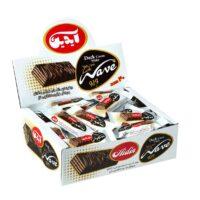 مینی ویفر شکلات تلخ آیدین بسته 40 عددی